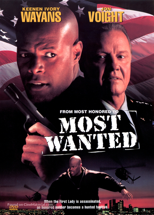 Most Wanted - DVD cover