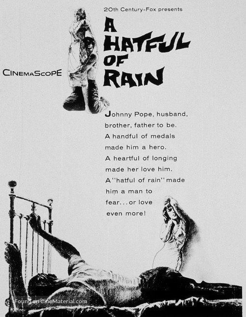 A Hatful of Rain - Movie Poster