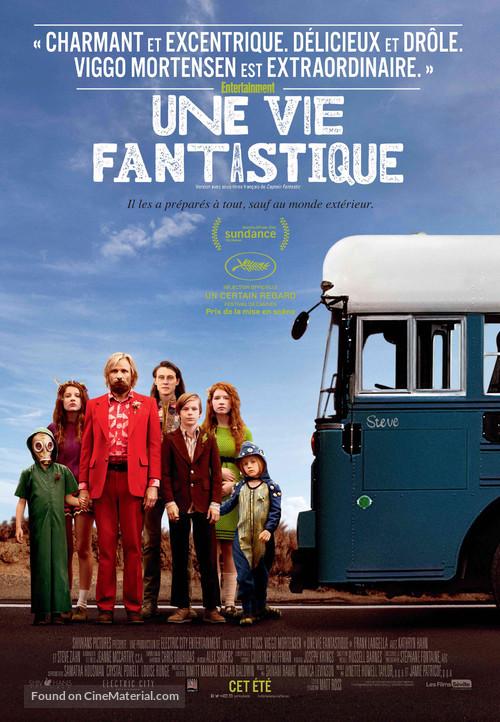 Captain Fantastic - Canadian Movie Poster