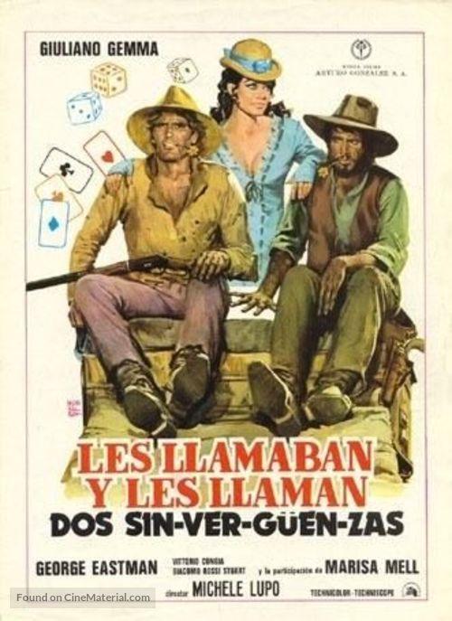 Amico, stammi lontano almeno un palmo - Spanish Movie Poster