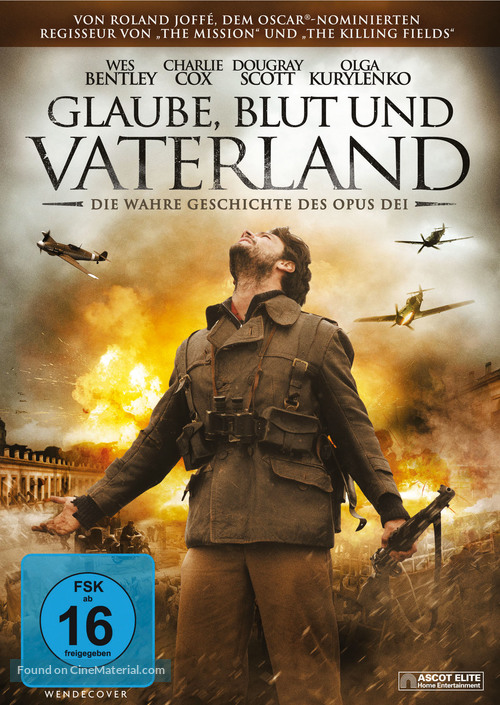 There Be Dragons - German DVD cover