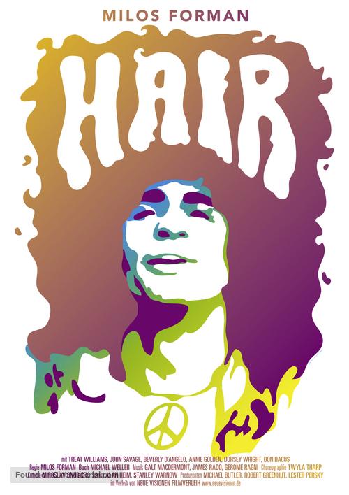 Hair - German Movie Poster