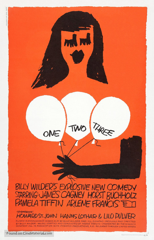 One, Two, Three - Theatrical poster
