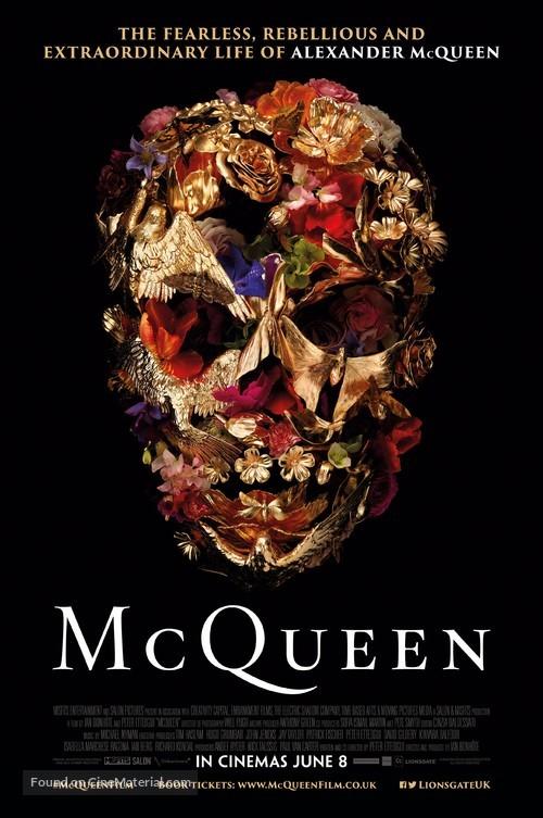 McQueen - British Movie Poster