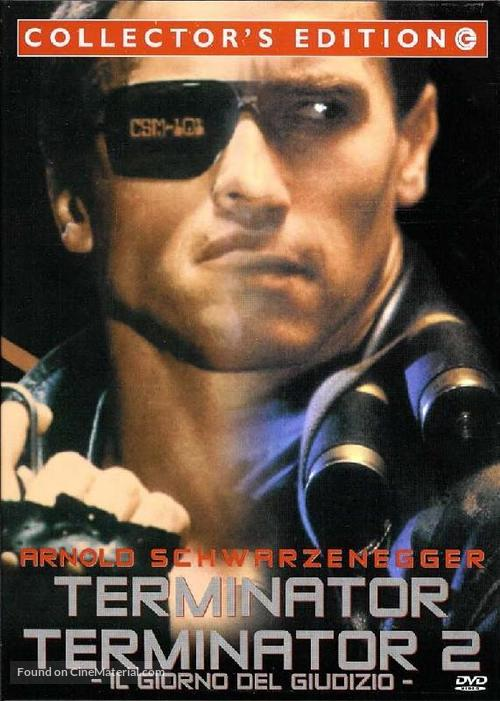 The Terminator - Italian Movie Cover