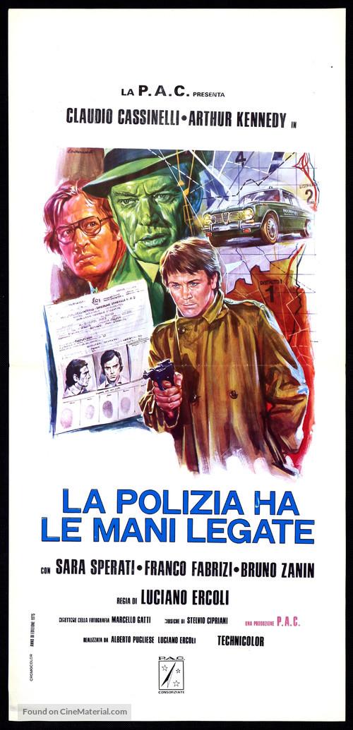 La polizia ha le mani legate - Italian Movie Poster