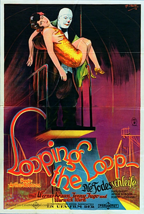 Die Todesschleife - German Movie Poster