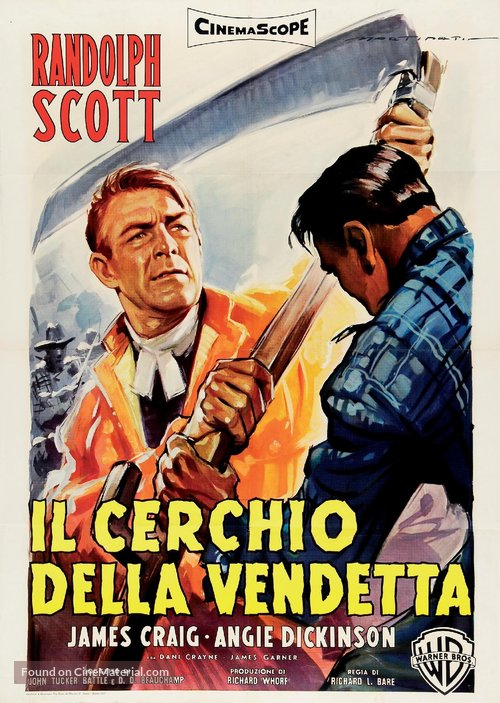 Shoot-Out at Medicine Bend - Italian Movie Poster