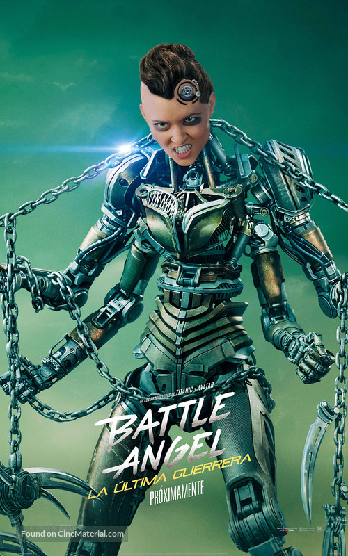 Alita: Battle Angel - Mexican Movie Poster
