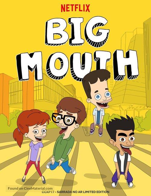 """Big Mouth"" - Brazilian Movie Poster"