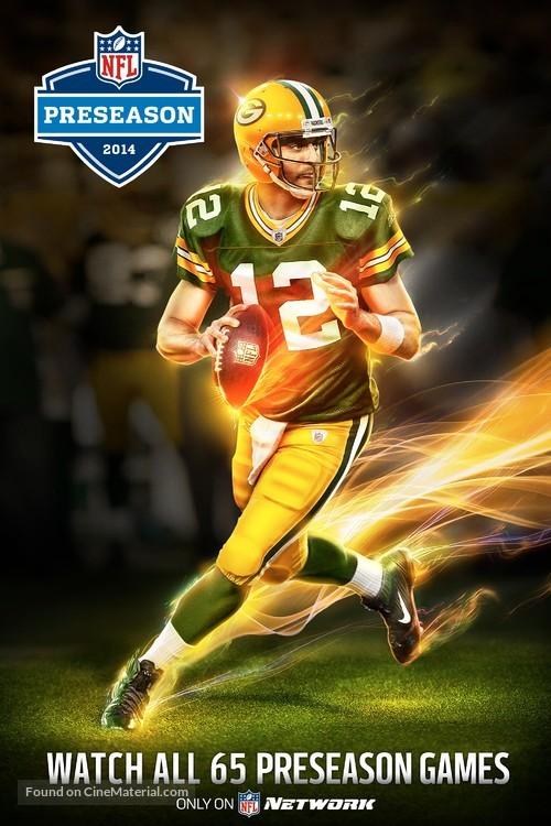 """NFL Preseason"" - Movie Poster"