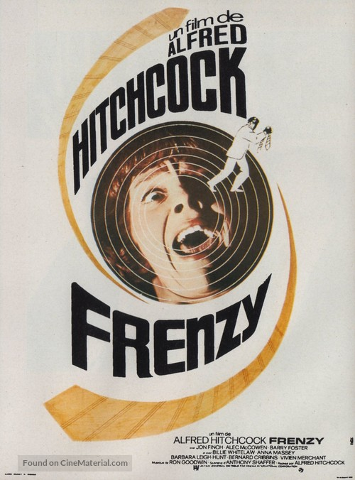 Frenzy - French Movie Poster