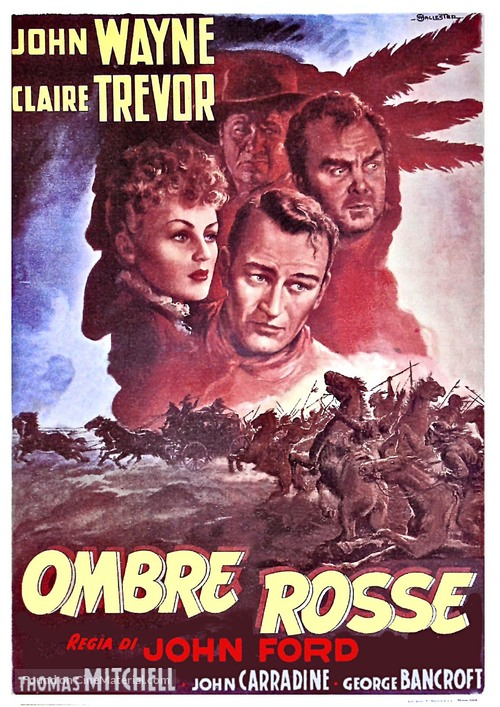 Stagecoach - Italian Movie Poster