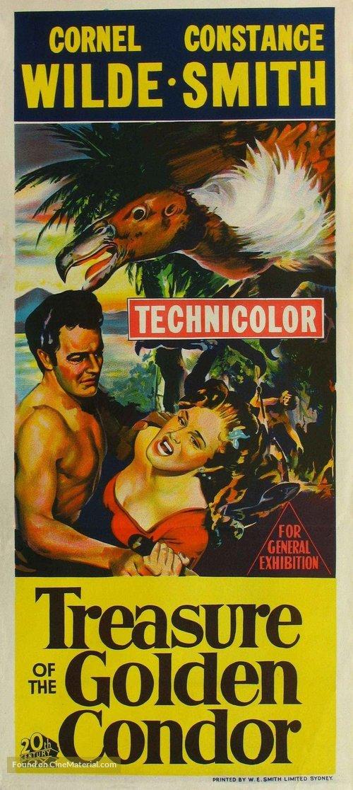 Treasure of the Golden Condor - Movie Poster