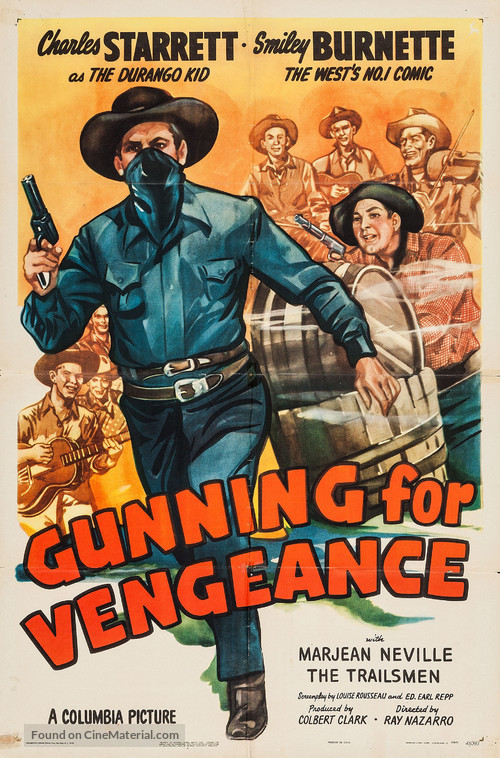 Gunning for Vengeance - Movie Poster