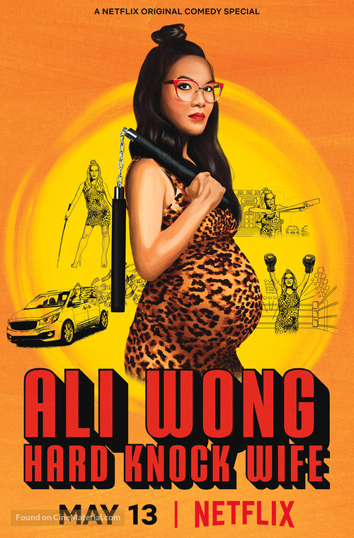 Ali Wong: Hard Knock Wife - Movie Poster