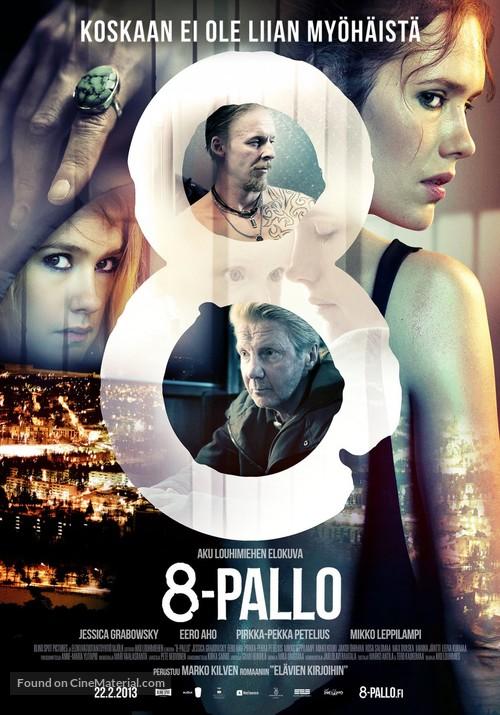 8-Pallo - Finnish Movie Poster