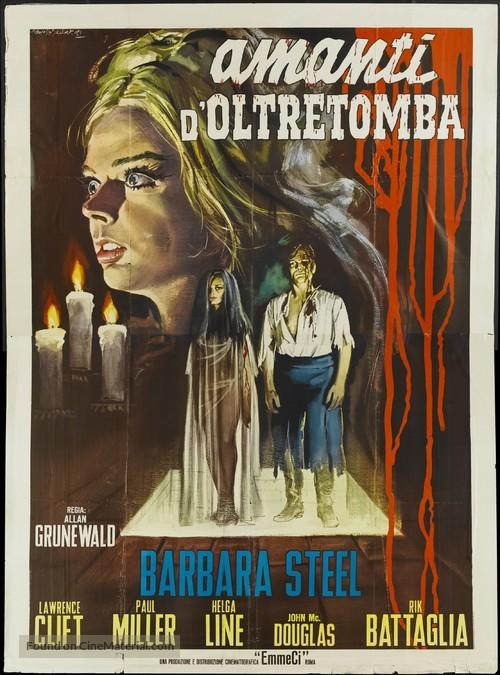 Gli amanti d'oltretomba - Italian Movie Poster