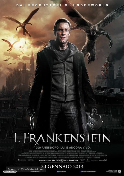 I, Frankenstein - Italian Movie Poster