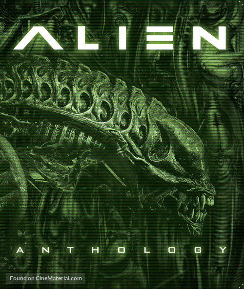 Alien: Resurrection - Blu-Ray cover