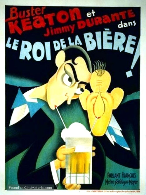 What! No Beer? - French Movie Poster