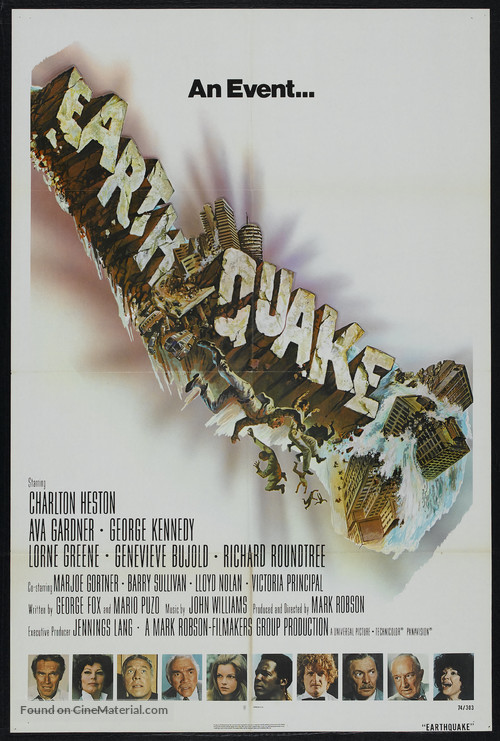 Earthquake - Movie Poster