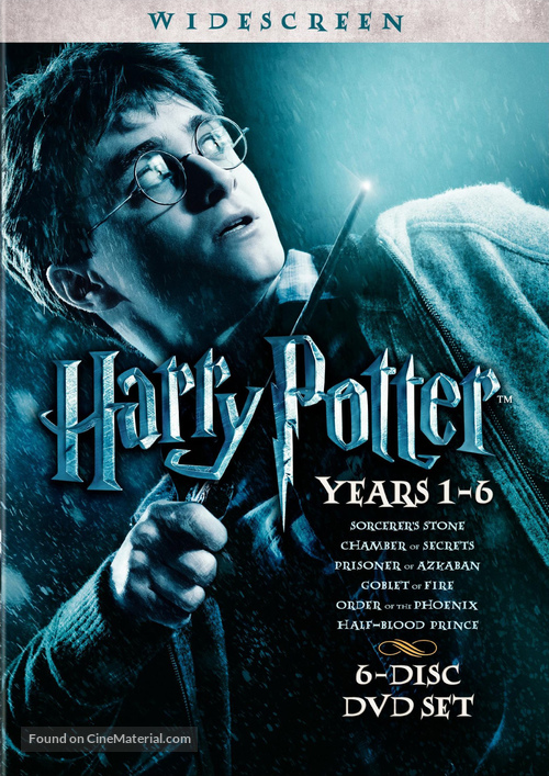Harry Potter and the Sorcerer's Stone - DVD movie cover