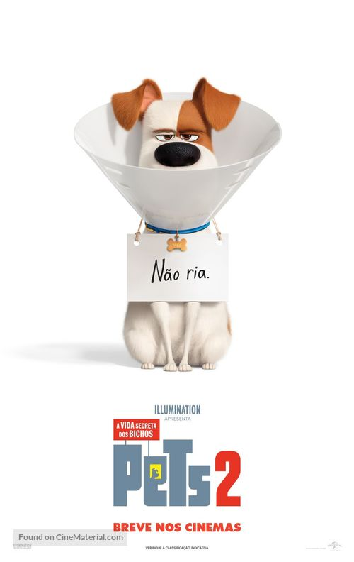 The Secret Life of Pets 2 - Brazilian Movie Poster