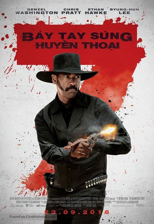 The Magnificent Seven - Vietnamese Movie Poster