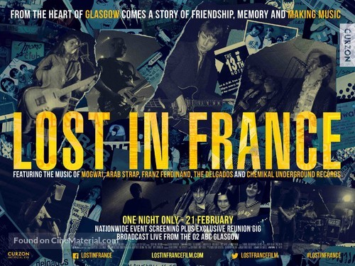 Lost in France - British Movie Poster