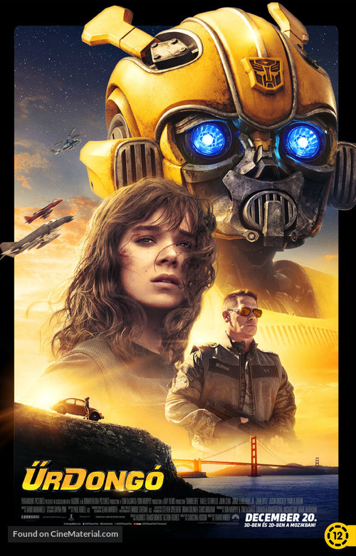 Bumblebee - Hungarian Movie Poster