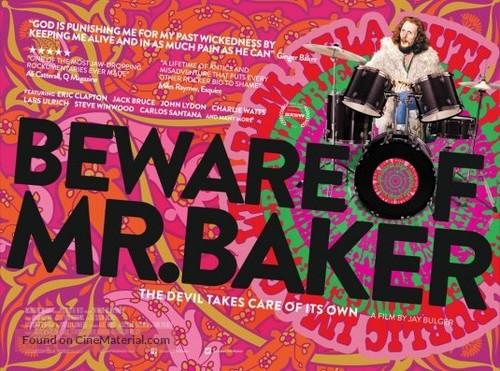 Beware of Mr. Baker - British Movie Poster