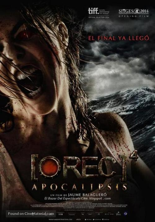 [REC] 4: Apocalipsis - Argentinian Movie Poster