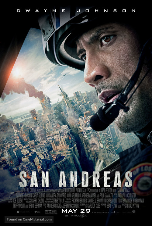San Andreas - Theatrical movie poster