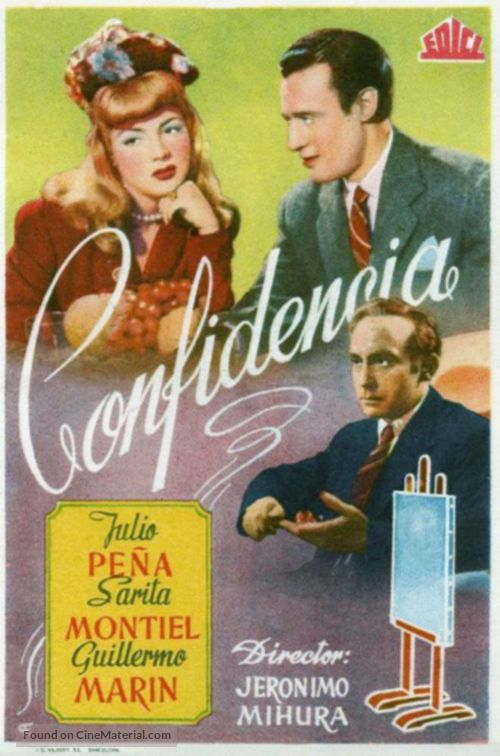 Confidencia - Spanish Movie Poster