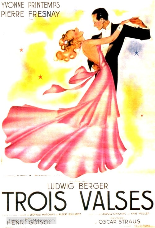 Les trois valses - French Movie Poster