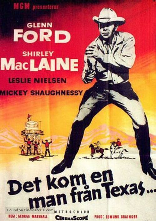 The Sheepman - Swedish Movie Poster