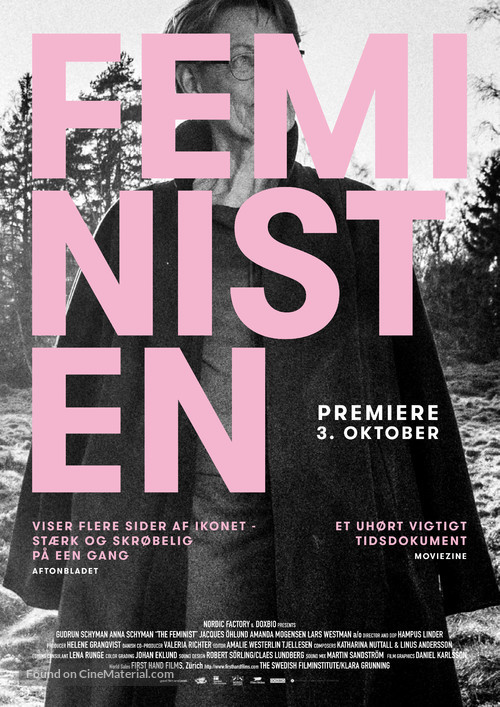 The Feminist: a Swedish Inspiration - Danish Movie Poster
