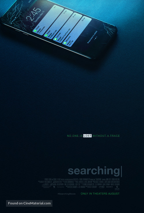 Searching - Movie Poster