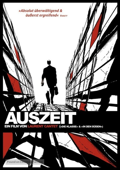 Emploi du temps, L' - German DVD cover