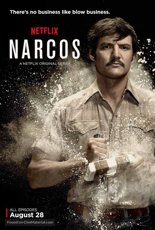 """Narcos"" - Movie Poster"
