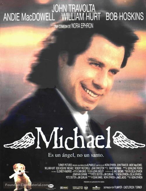 Michael - Spanish Movie Poster