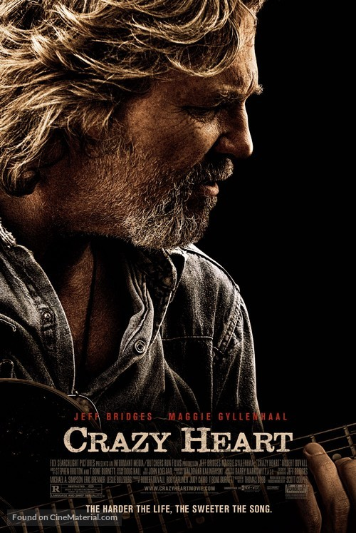 Crazy Heart - Theatrical poster