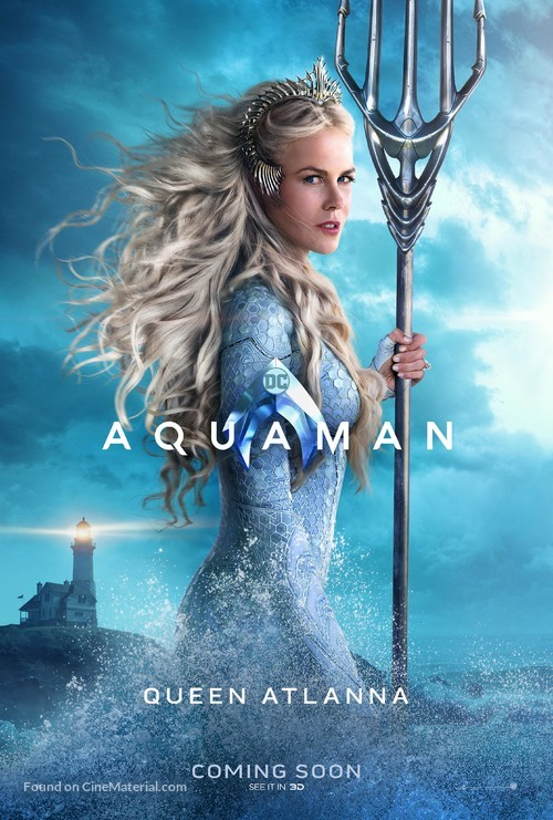 Aquaman - British Movie Poster