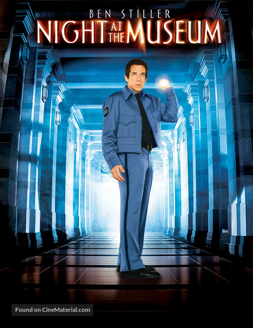 Night at the Museum - DVD movie cover