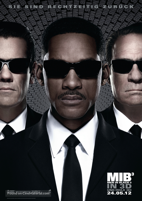 Men in Black 3 - German Movie Poster