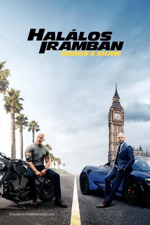 Fast & Furious Presents: Hobbs & Shaw - Hungarian Movie Cover