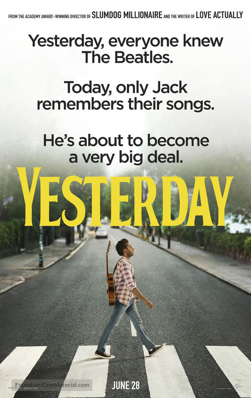 Yesterday - Movie Poster