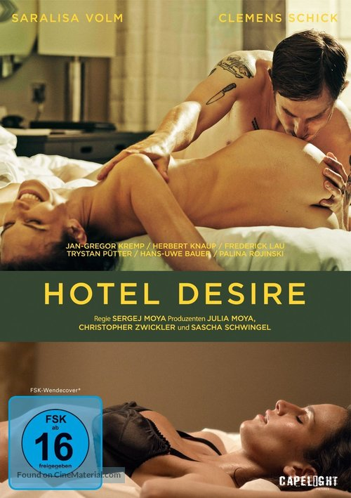 Hotel Desire - German DVD movie cover