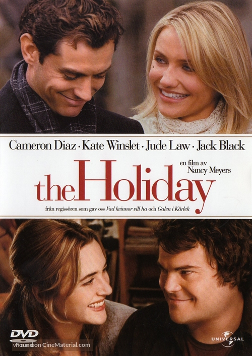The Holiday - Swedish DVD cover